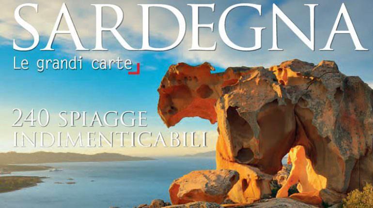 Spiagge Sardegna Cartina.Cartina 240 Spiagge Indimenticabili Della Sardegna Locanda S Anninnia