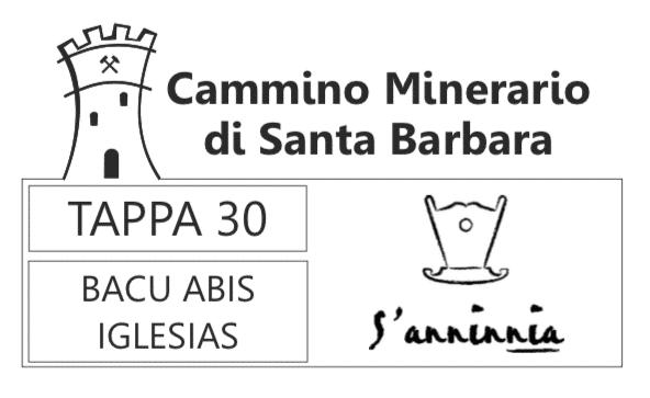 punto ufficiale di timbratura cammino minerario di santa barbara