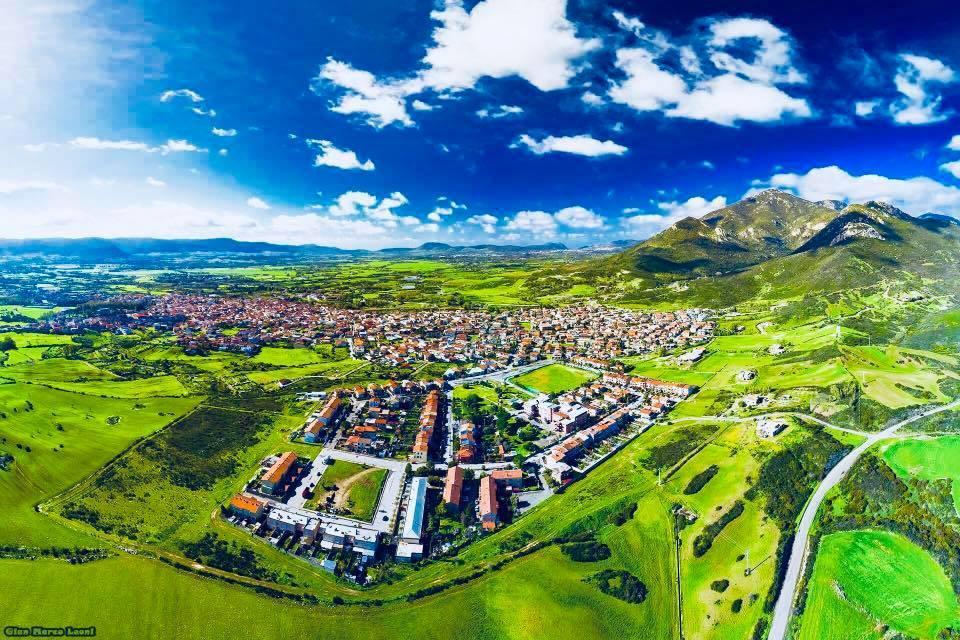 La cittadina del Sulcis Iglesiente Domusnovas