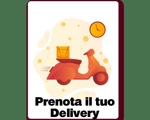 prenota il tuo delivery